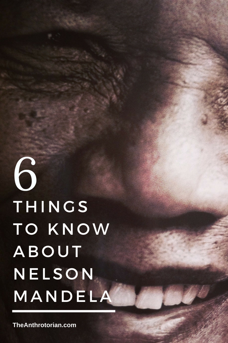 things to know about Nelson Mandela