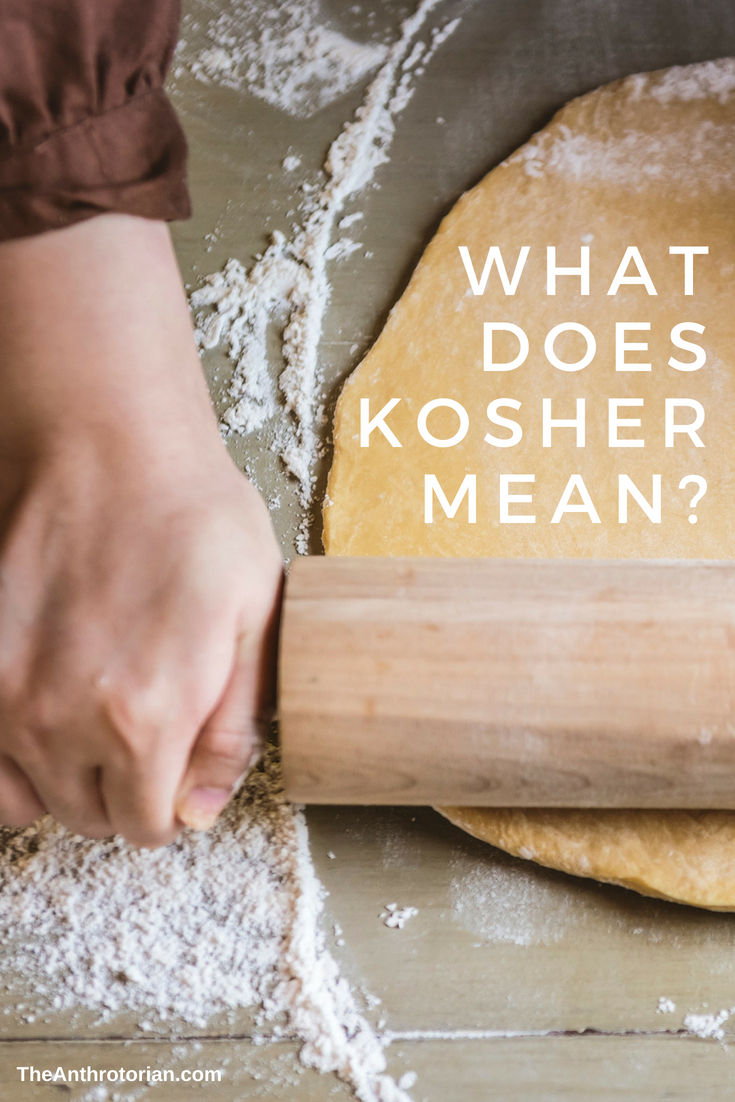 what does kosher mean?