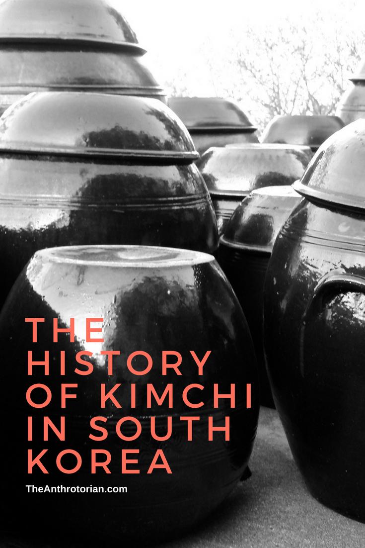 History of Kimchi in South Korea