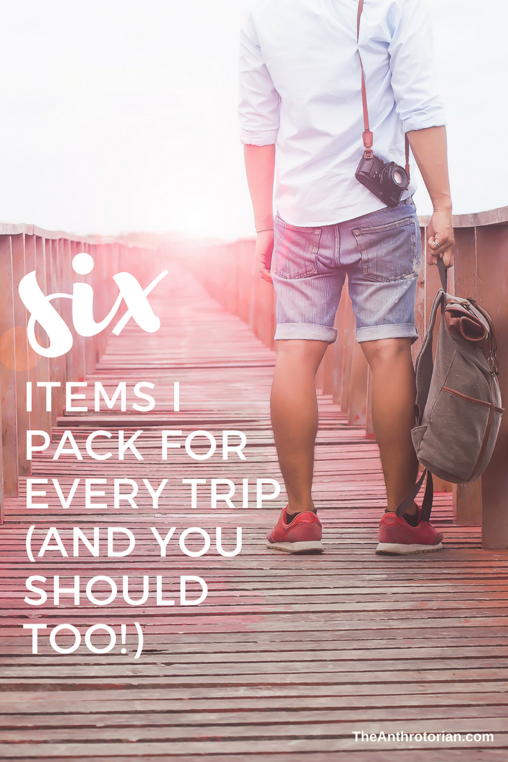 Must pack items for every trip you take