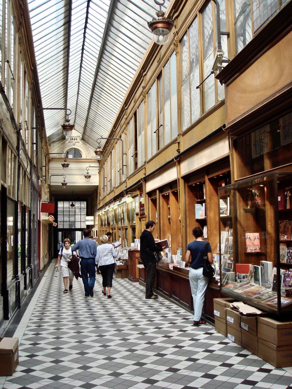The Covered Passageways in Paris