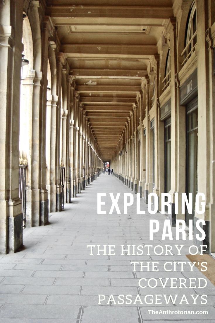 The Passageways in Paris