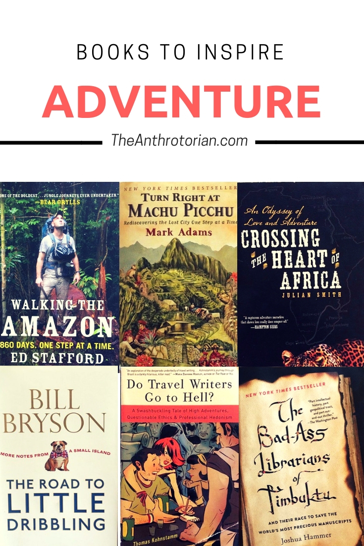 Books to Inspire Adventure