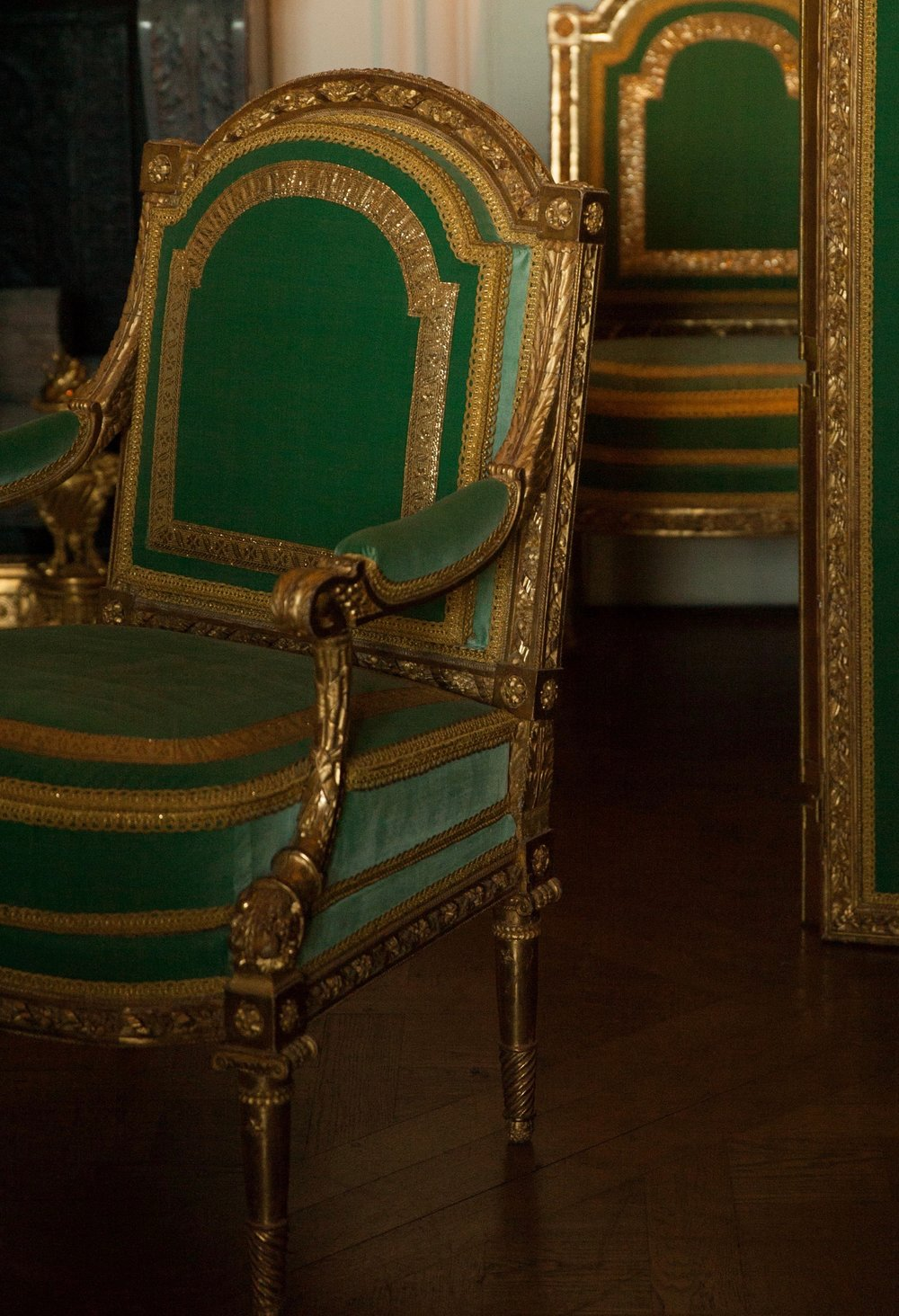 The chairs of Versailles
