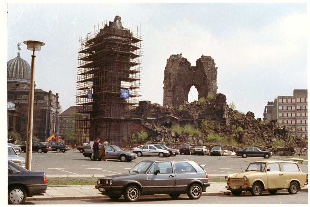 1992 - Shortly before restoration began.