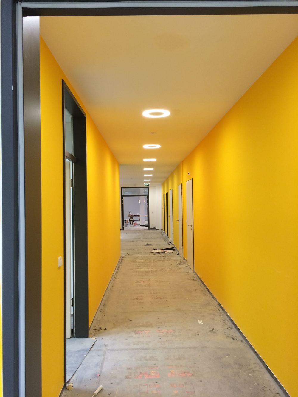 Classroom Hallway- almost finished