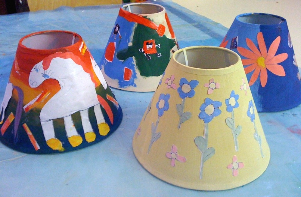 Children's light shades