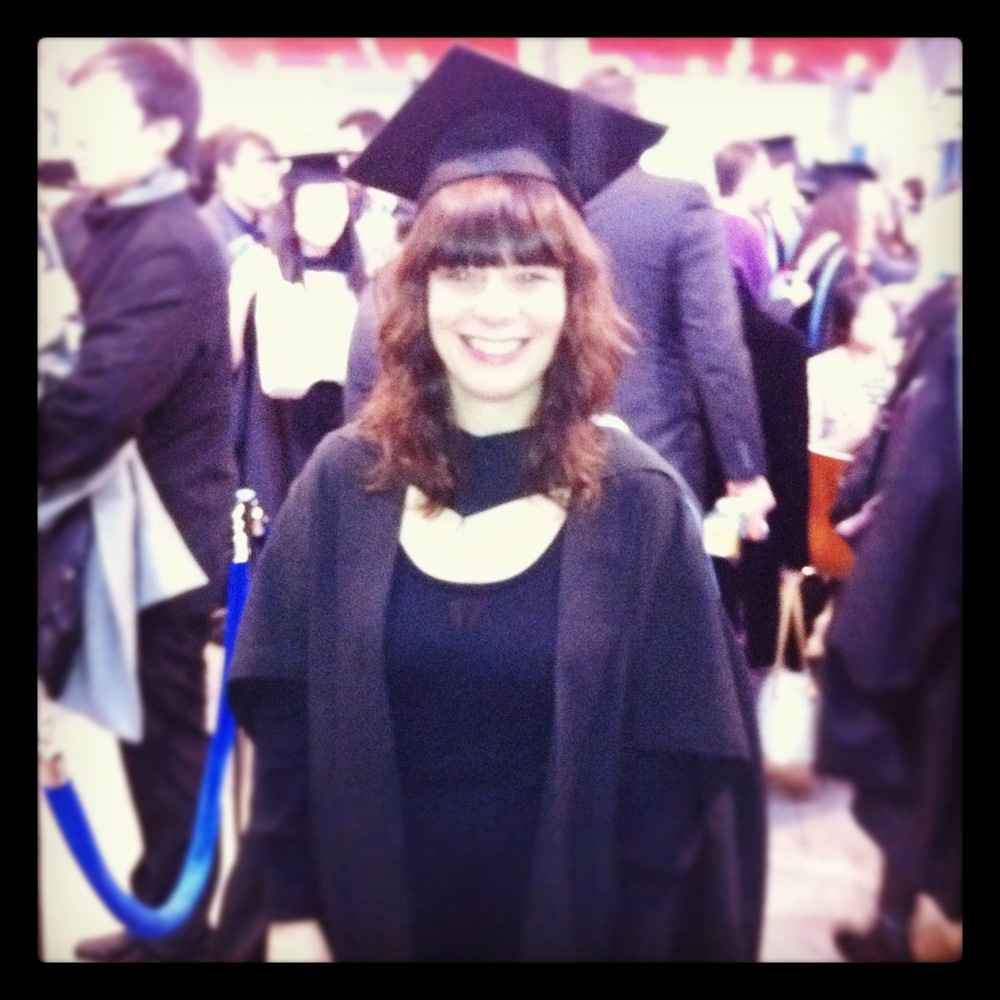 A privilege to have graduated alongside some talented designers from WSA today. Looking forward to getting stuck in...