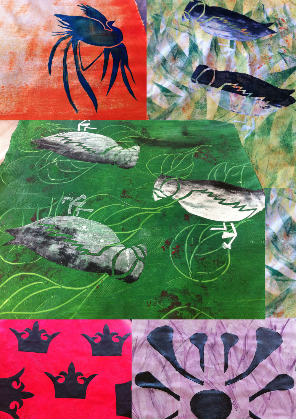Pattern, print and texture will be explored and developed using a variety of printing techniques. A collection of fabric and paper samples will be produced using lino printing, transfer printing, stencil and screen-printing. This course is aimed at beginners and intermediates.    Tuesdays 14, 21 May, 4, 11, 18 June. 10.30am-12.30pm | £95 including all materials.   For further details contact www.makingspace.org