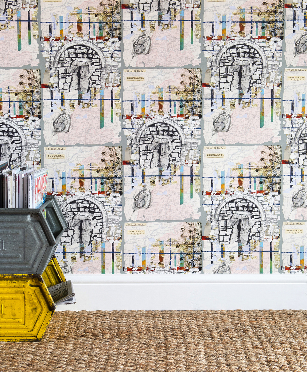 'Southampton Fusion' luxury wallpaper