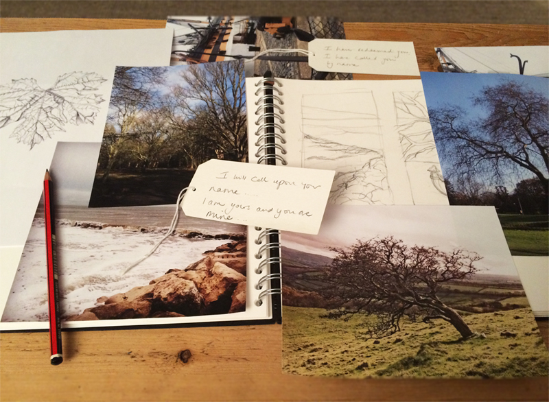 Assembling photo's, sketches and thoughts...