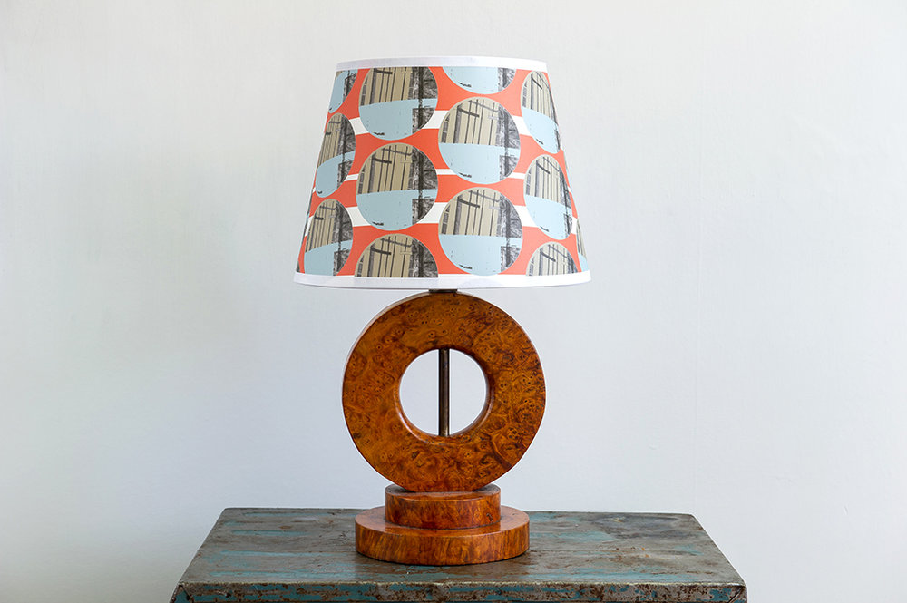 Structural Circles Retro Lampshade