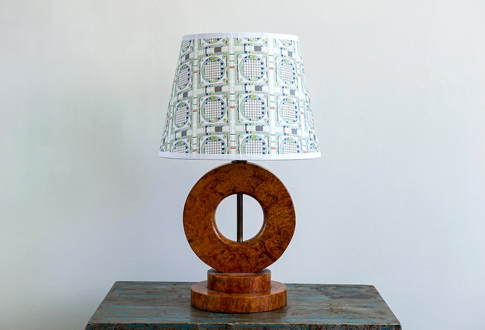 Grid Retro Lampshade