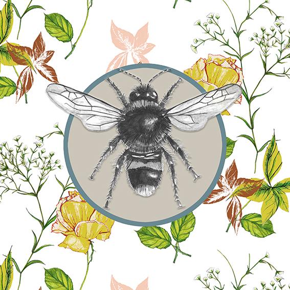 Bee Giclee Print