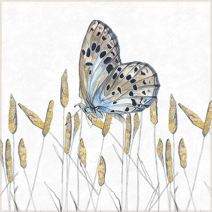 Large Blue Giclee Print