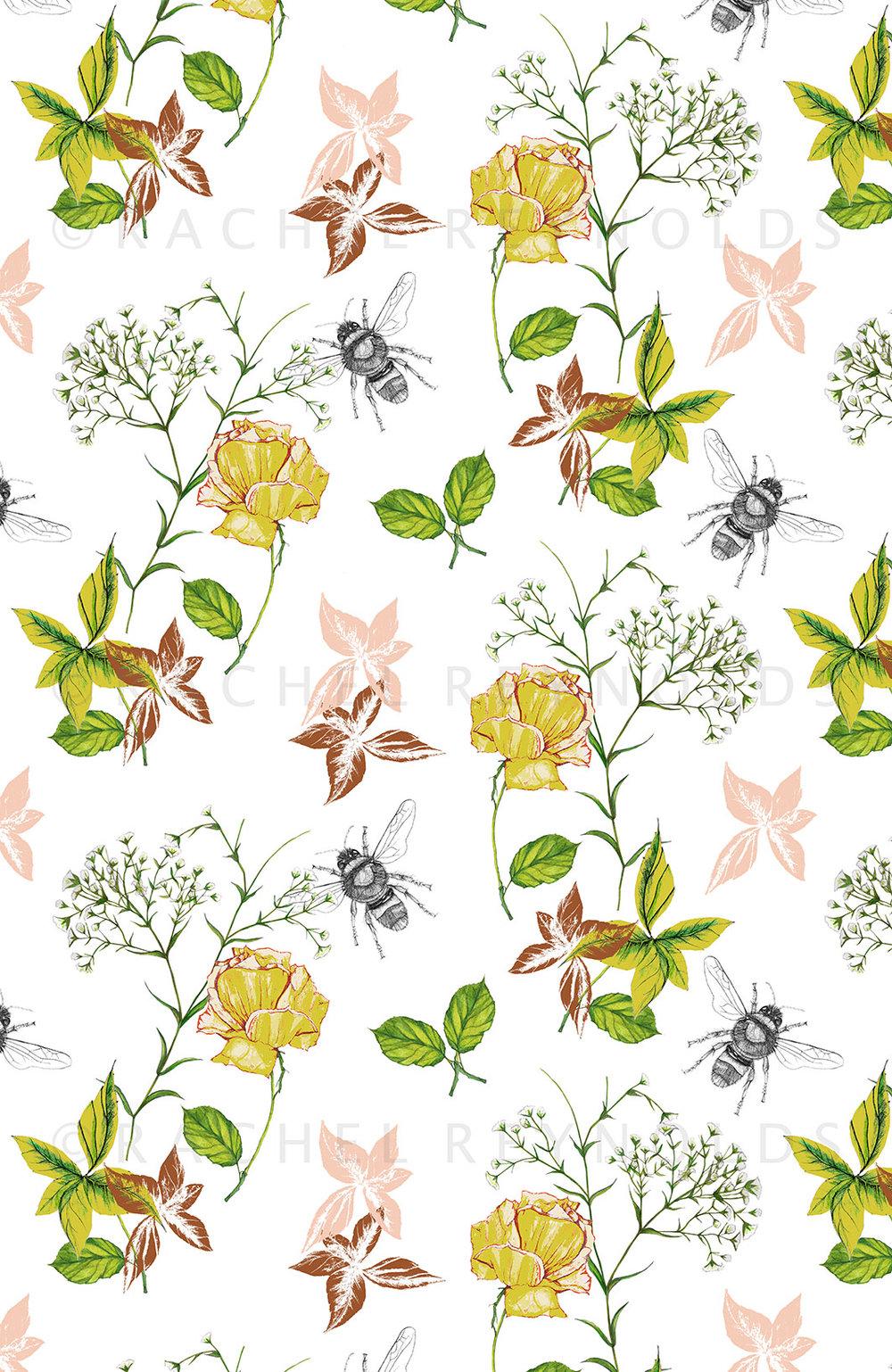 Flora & Fauna White