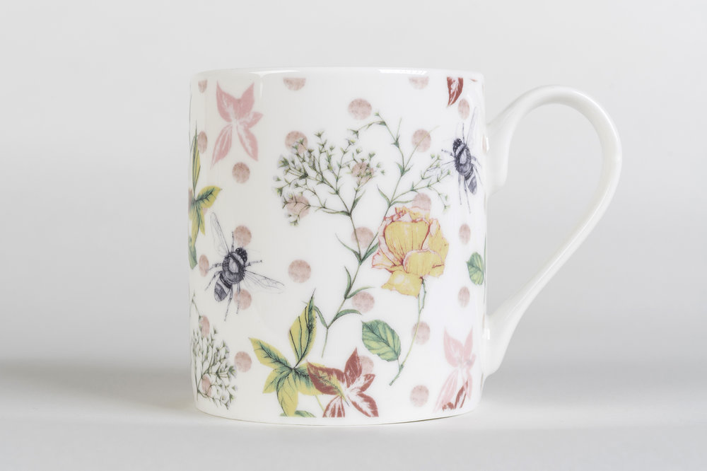 Flora & Fauna Bone China Mug