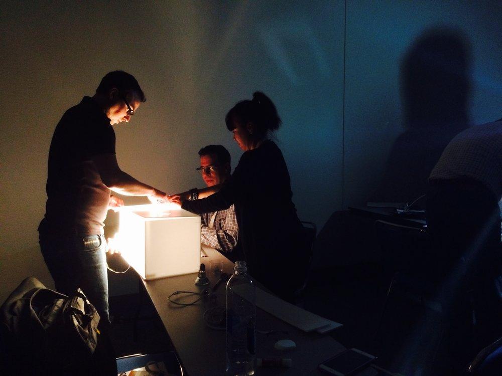 experimento em equipes, 2016. foto: diana joels