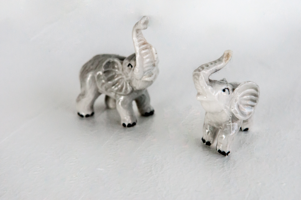 """Two- little elephants"" - 3A"