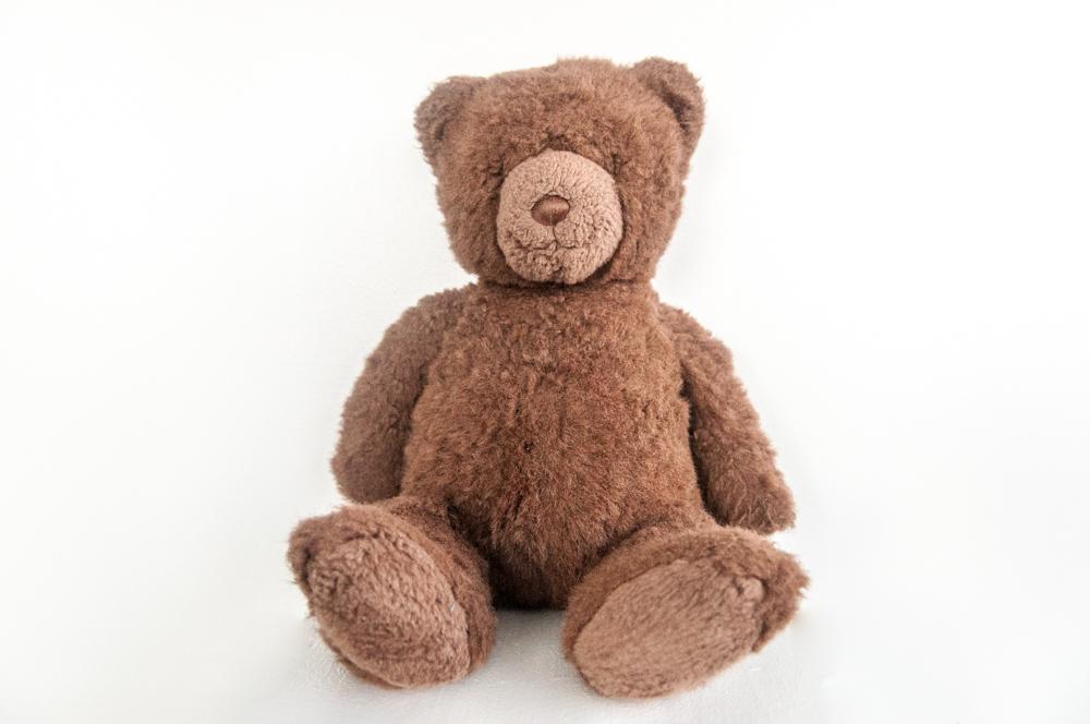 """Brown Teddy Bear"" - 1J"