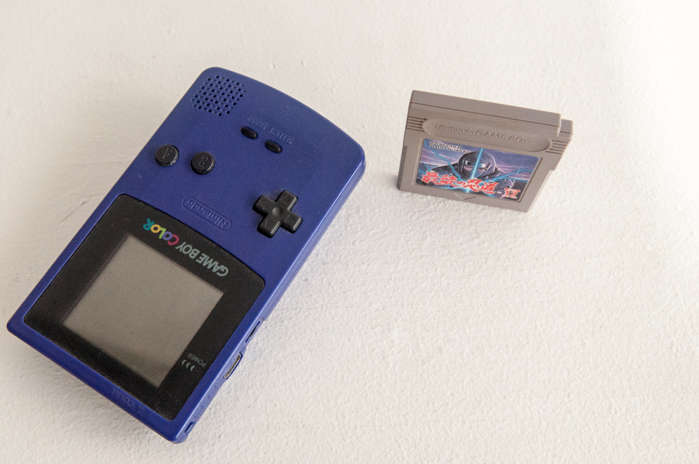 """""""Game Boy + game from the loft barn at my parents' house"""" - 2N"""