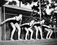 1955 Joan Spillane, Melinda Merritt, Tracy Nichols, Terry Patterson