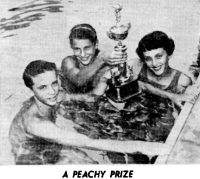 June 28, 1957 Phil Simpkins, 13; Ellen Kaim, 12; Joan Spillane, 14