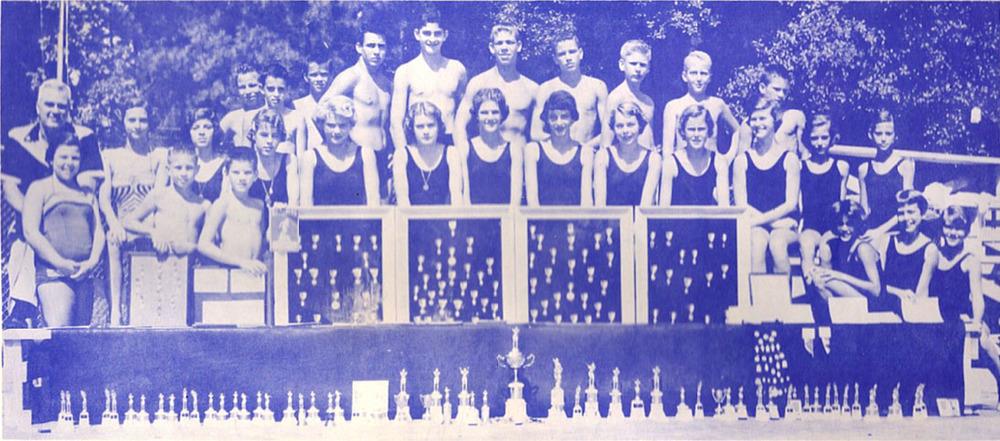 1955 Swim Team