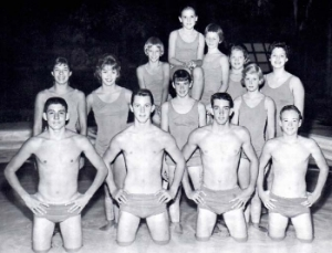 1961 Qualified National Swimmers