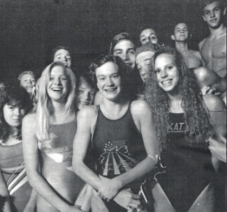 1990s Jr. Nationals Qualifiers: (Left to Right) Front row: Meghan McGovern, Cathy Angerstein, Alegra Breaux, Julie Musgrove. Back row: Chris Archer, Steve Quance, Weston Cerny, David Baker, Brian Hurst, Michael Reynolds, Joe Asher and B.J Allenstein.