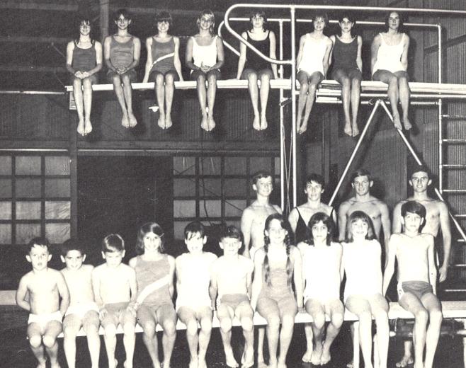 1966 Diving Team