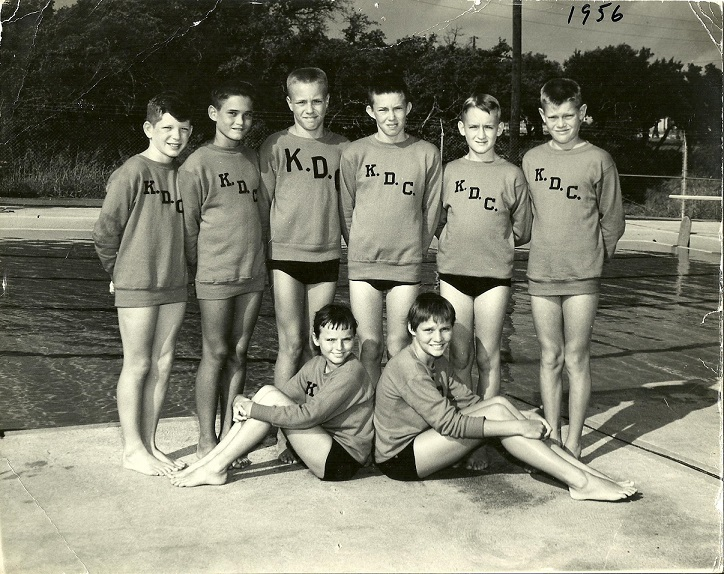Killeen dolphin club members, 1956.jpg