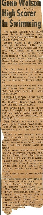 1959 60 SA Swim results Killeen Dolphin Club.jpg