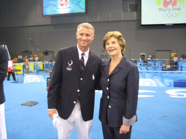 Laura Bush and Matt.jpg