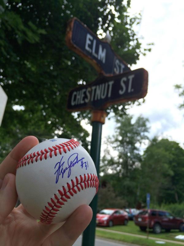 Ferguson Jenkins Baseball