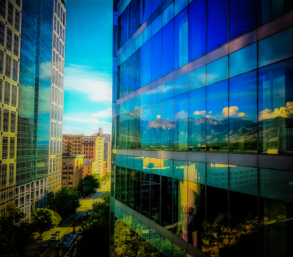 Urban Reflections… Salt Lake City, Utah