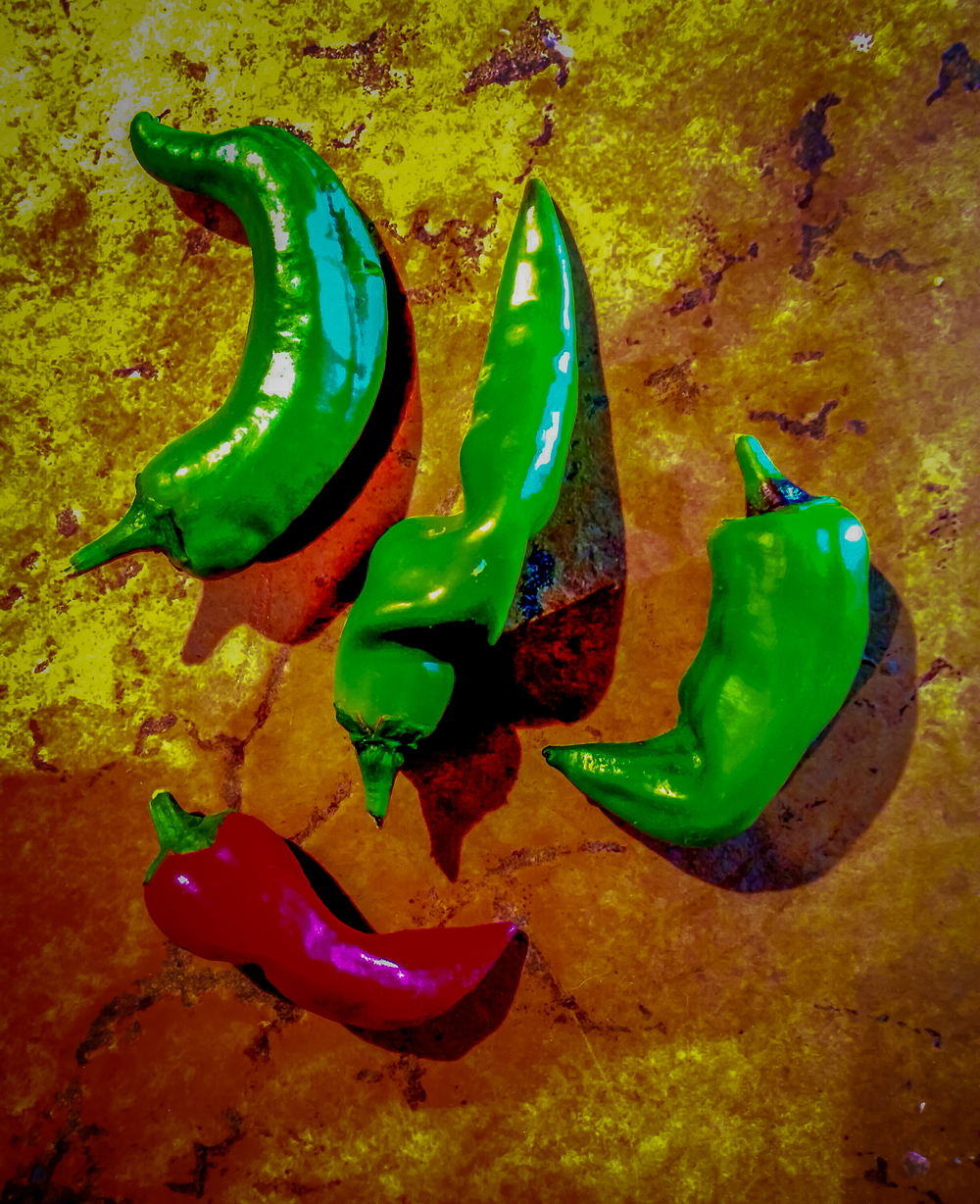 Chilies- Food Photography