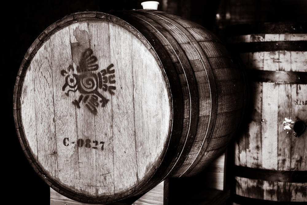 tequila barrel for aging craft beer