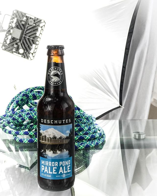Testing the new lights… Deschutes in the studio! #MARTYhiester #deschutes #greatbeer