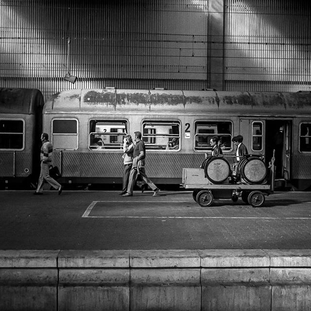 Munich train station circa 1980- I used to travel to the ISPO show in Munich, Germany annually, One of my vivid memories from the adventures was seeing my first train from Moscow arrive in the station after the wall went down…What a wonderful feeling seeing the people of the world come together!#munich #germany #peaceonearth #anewbeginning #2017 #peacewithin #worldpeace #lovecreateslove #spiritsoflife #loveoneanother #MARTYhiester