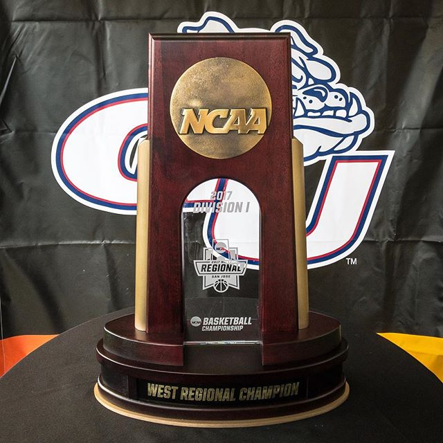 Western Regional Championship Trophy 🏆 #gozags