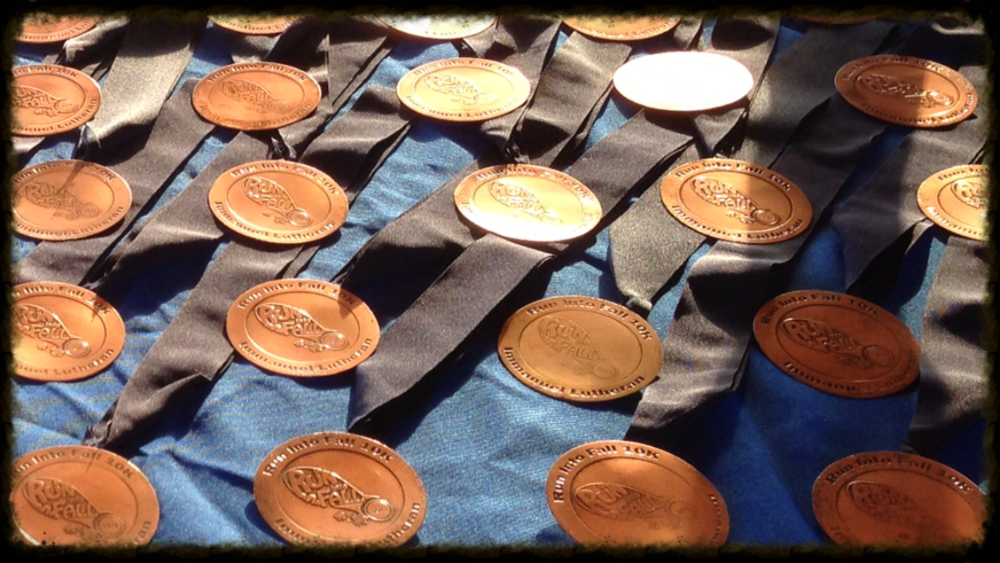 10K awards for 2012 Run Into Fall.