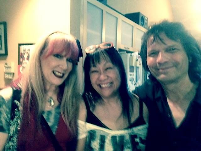 Cindy Dunaway, May Pang, and Dennis Dunaway, 2014