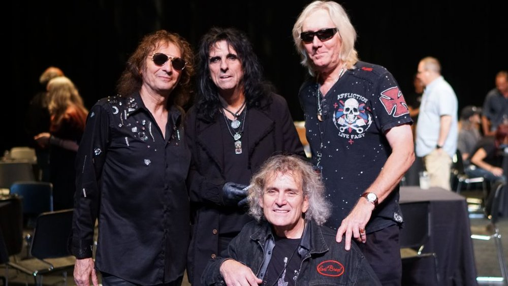 Original Alice Cooper Band Reunites in Nashville, TN. Photo by Kyler Clark – CerealKyler Photography
