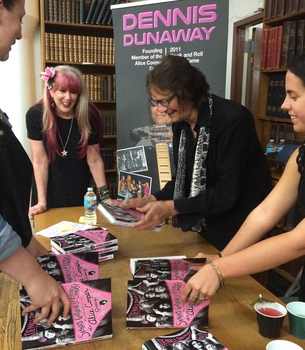 dennis-dunaway-strand-book-signing