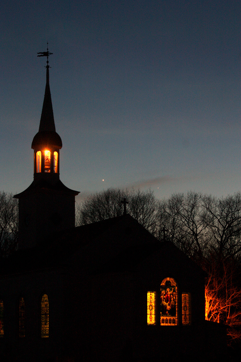 Venus, Mercury and Church