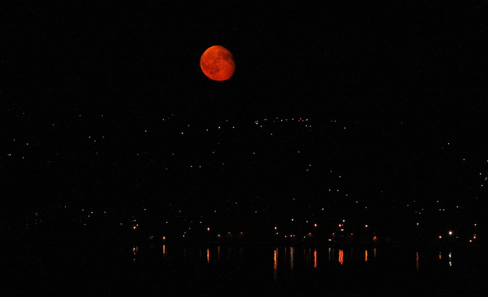 Halifax Harbour moonrise