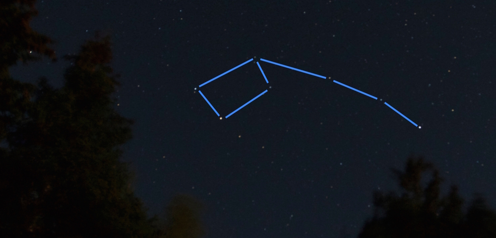 THE LITTLE DIPPER AS SEEN FROM PEI, CANADA