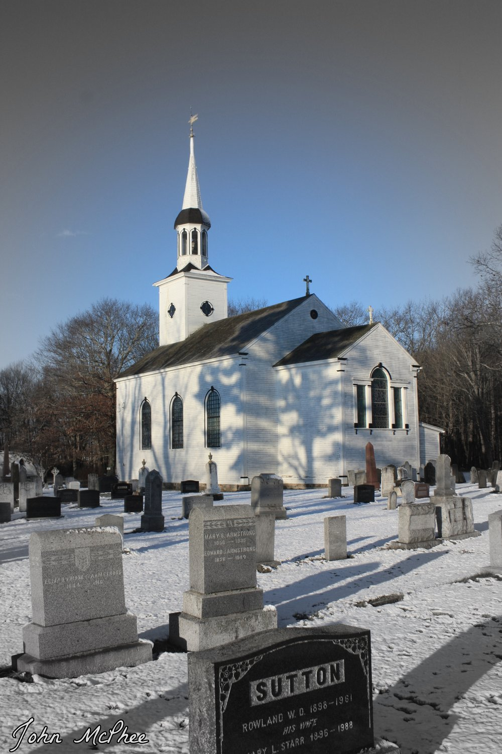 St. John's Anglican Church cemetery in Port Williams, Kings County. (JOHN McPHEE)