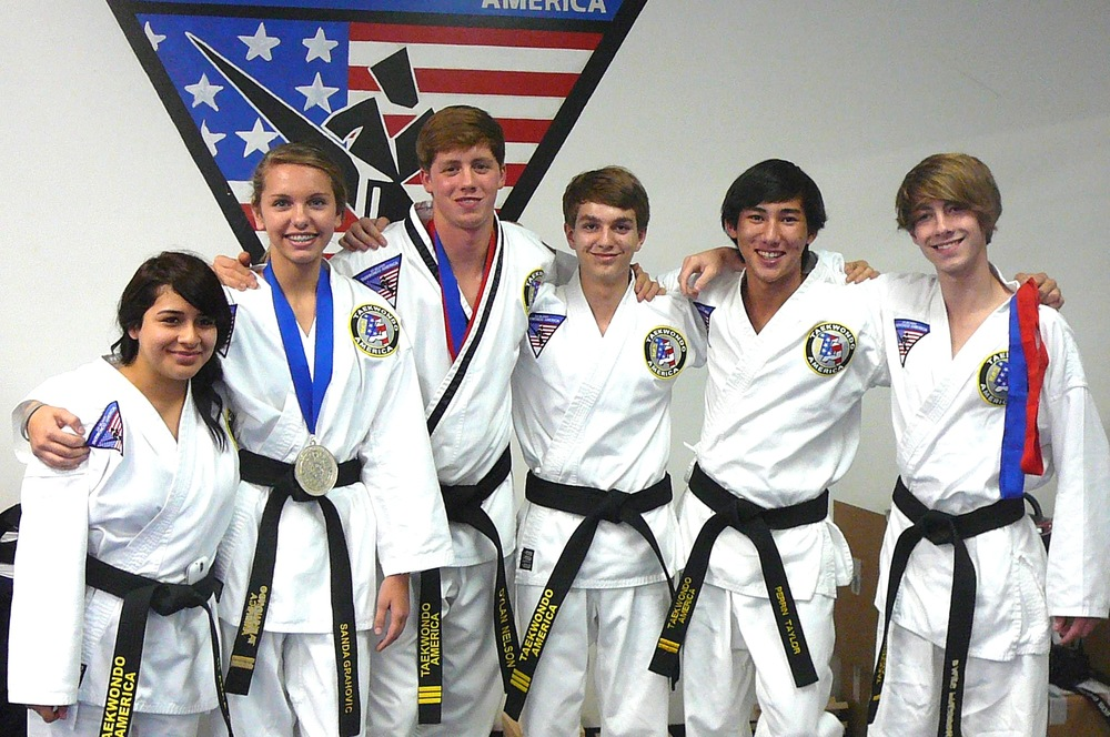 From left: Blanka Toral, Sonda Grahovic, Dylan Nelson, Jared Elliot, Perrin Taylor, Davis Preston